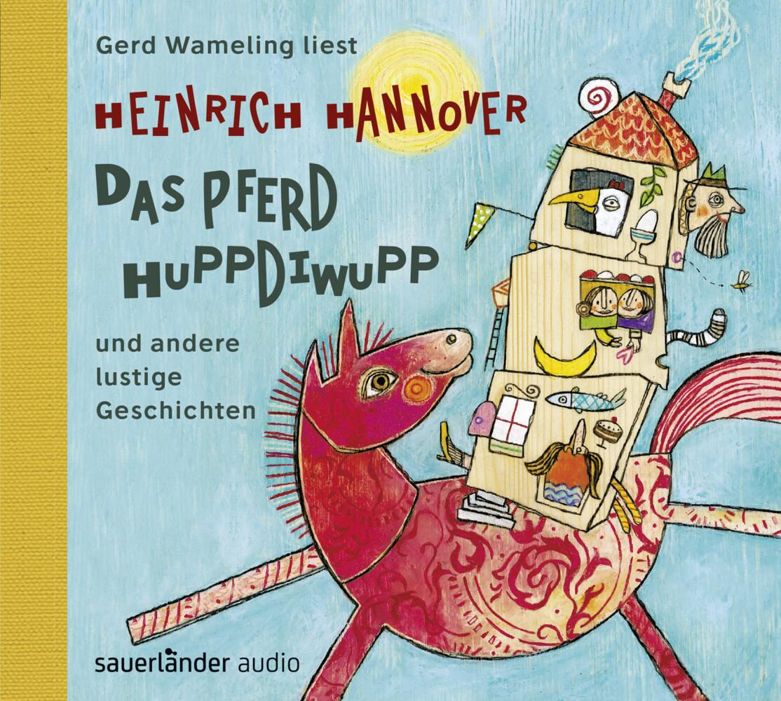 Das Pferd Huppdiwupp und andere lustige Geschichten als Hörbuch CD