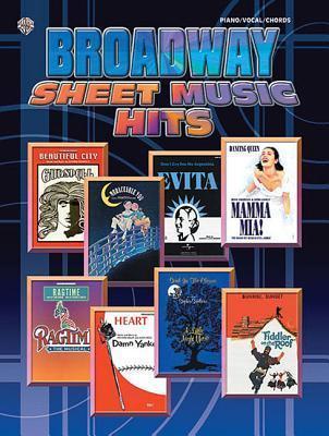 Broadway Sheet Music Hits: Piano/Vocal/Chords als Taschenbuch
