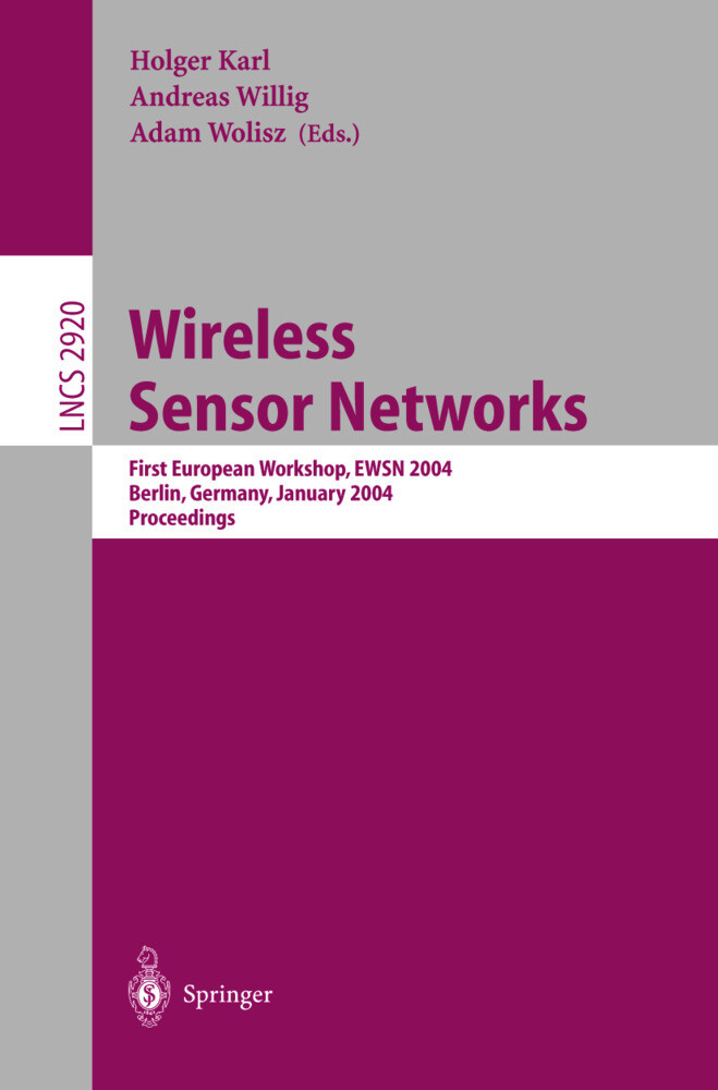 Wireless Sensor Networks als Buch (kartoniert)
