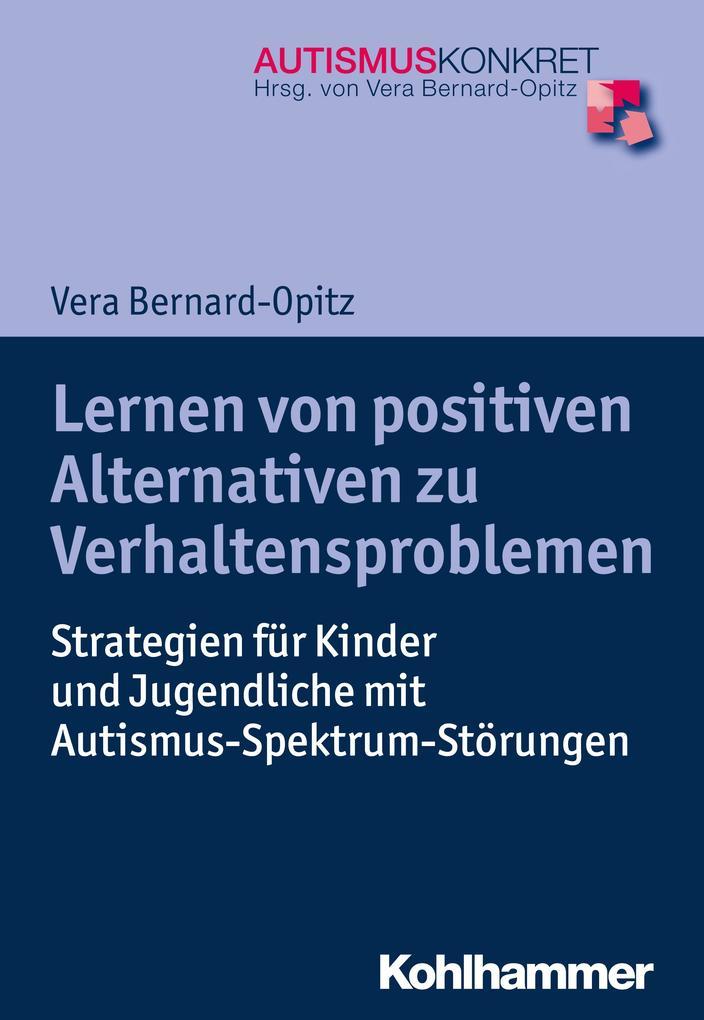 Lernen von positiven Alternativen zu Verhaltensproblemen als Buch (kartoniert)