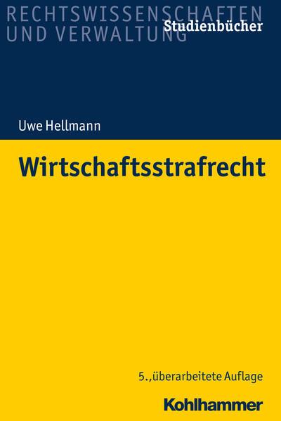 Wirtschaftsstrafrecht als Buch (kartoniert)