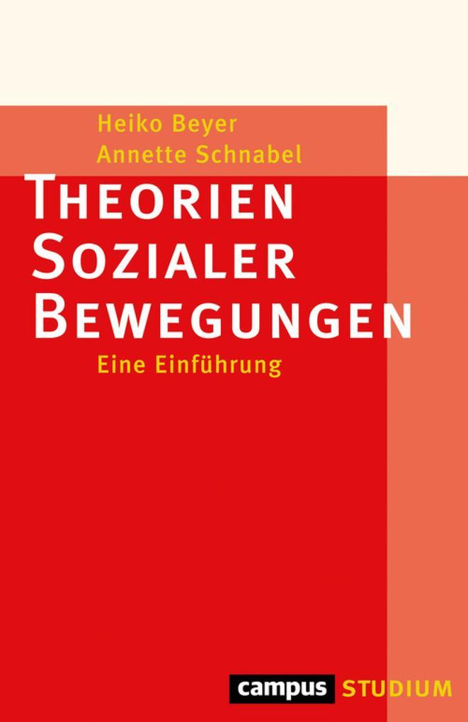Theorien Sozialer Bewegungen als eBook epub