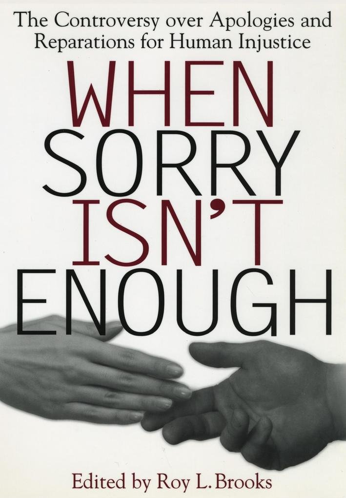 When Sorry Isn't Enough als eBook epub