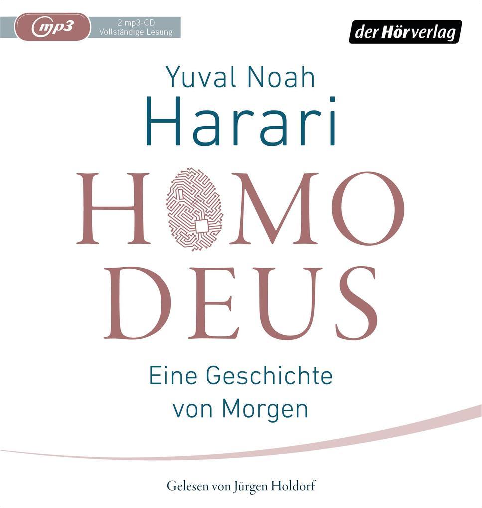 Homo Deus als Hörbuch CD