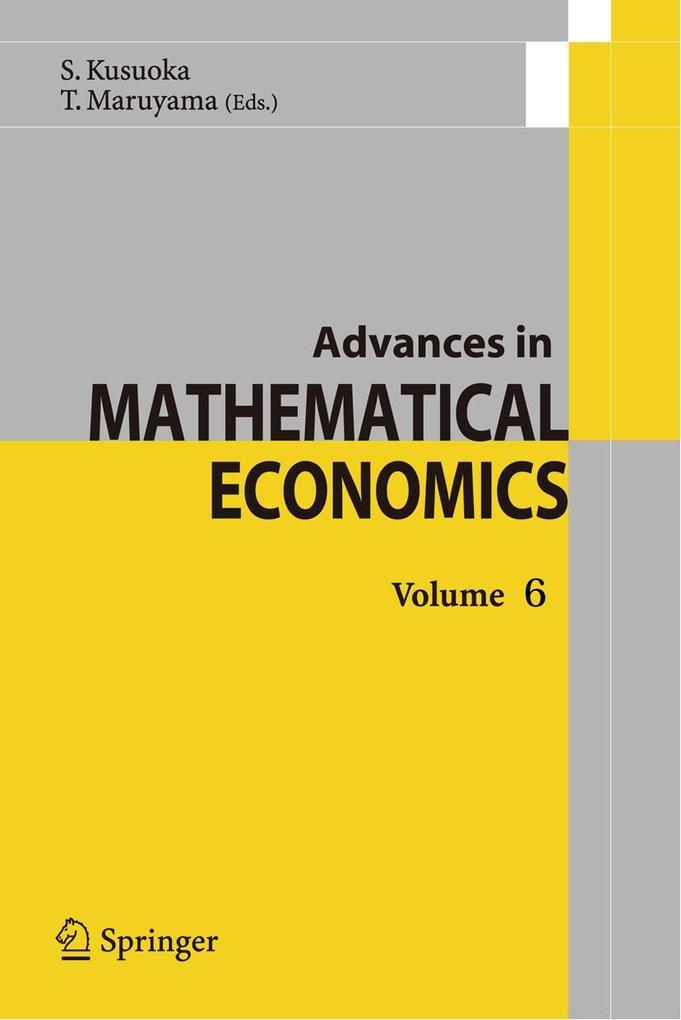 Advances in Mathematical Economics als Buch (gebunden)