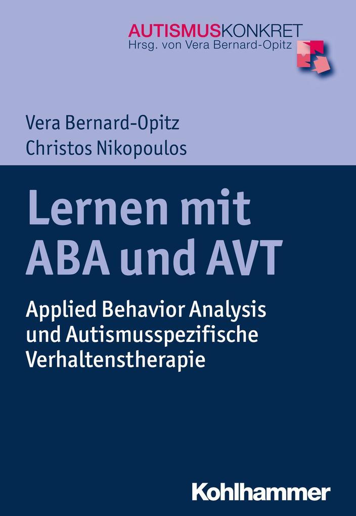 Lernen mit ABA und AVT als eBook epub