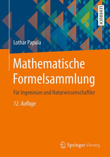 Mathematische Formelsammlung als Buch (kartoniert)