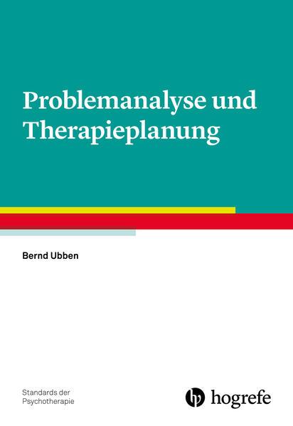 Problemanalyse und Therapieplanung als Buch (kartoniert)
