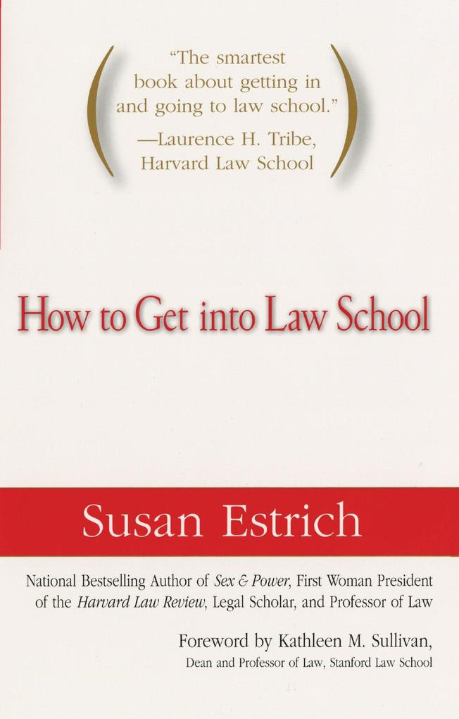 How to Get Into Law School als Taschenbuch