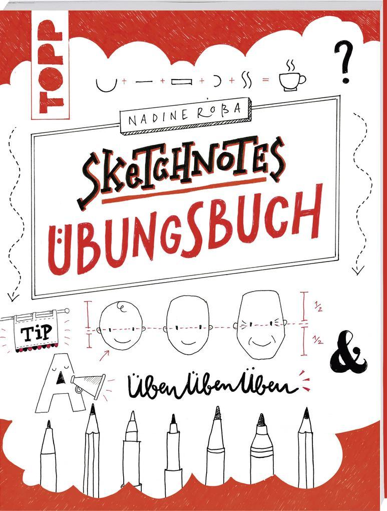 Sketchnotes Übungsbuch als Buch (geheftet)