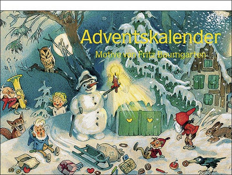 Nostalgie im Advent als Kalender