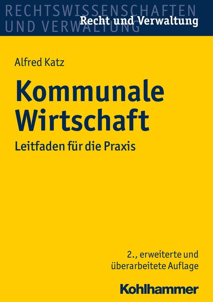 Kommunale Wirtschaft als eBook