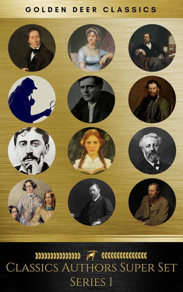 Classic Authors Super Set Series 1 (Golden Deer Classics) als eBook epub