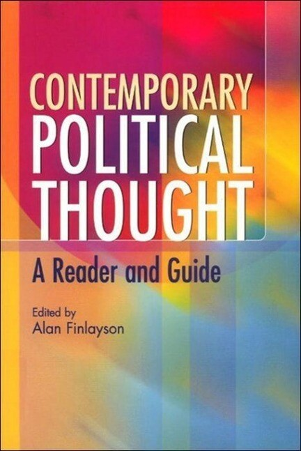 Contemporary Political Thought als Buch (kartoniert)