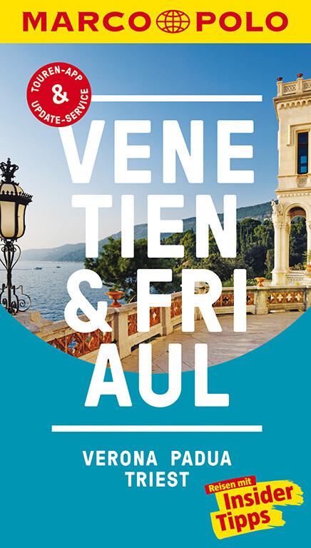 MARCO POLO Reiseführer Venetien, Friaul, Verona, Padua, Triest als Buch (kartoniert)