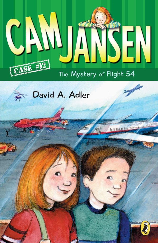 CAM Jansen: The Mystery of Flight 54 #12 als Taschenbuch