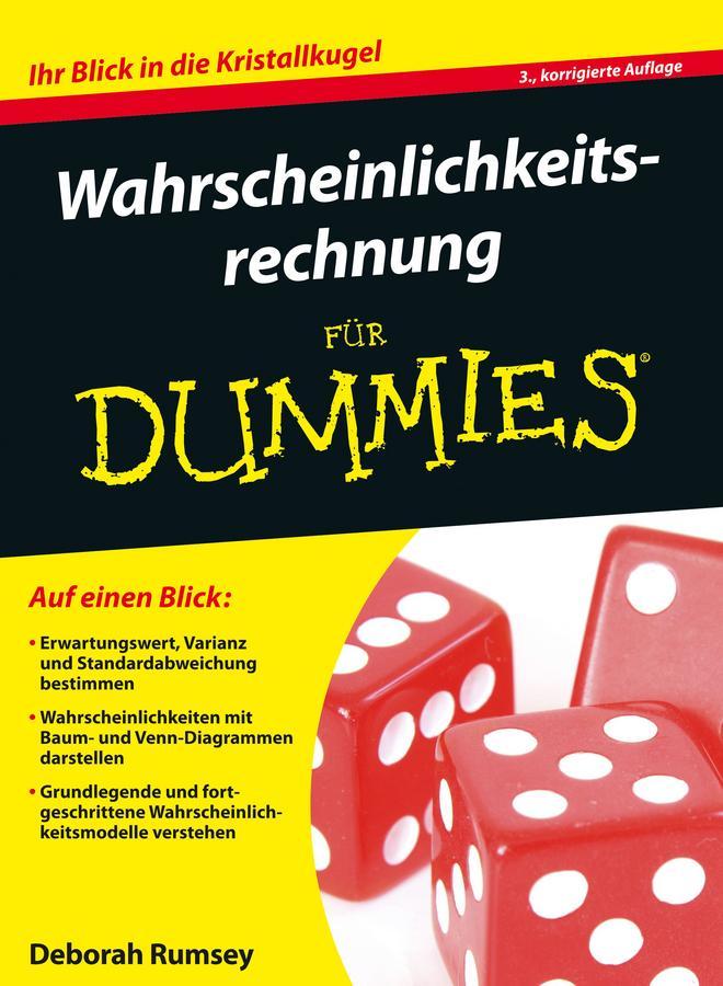 Wahrscheinlichkeitsrechnung für Dummies als eBook epub