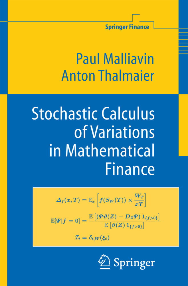 Stochastic Calculus of Variations in Mathematical Finance als Buch (gebunden)