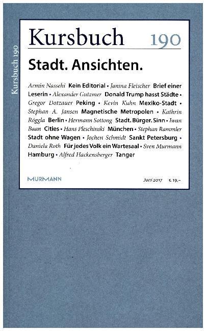 Kursbuch 190 als Buch (kartoniert)