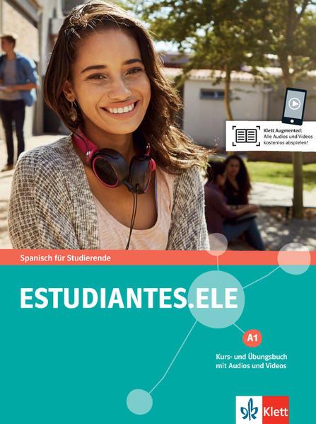 Estudiantes. ELE A1. Kurs- und Übungsbuch + Audios online als Buch (kartoniert)