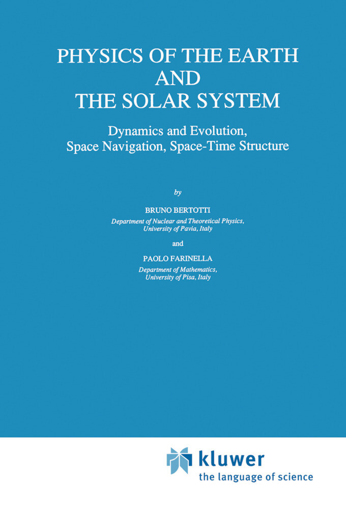 Physics of the Earth and the Solar System als Buch (gebunden)