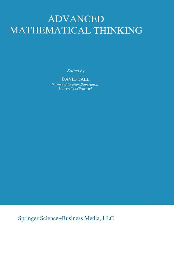 Advanced Mathematical Thinking als Buch (kartoniert)