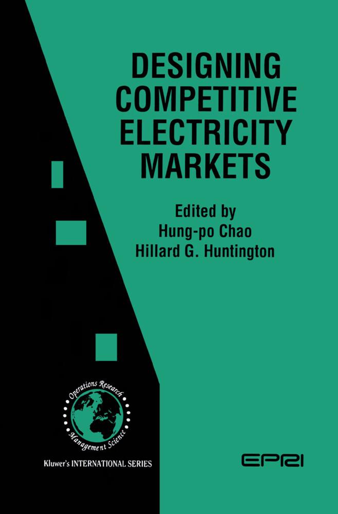 Designing Competitive Electricity Markets als Buch (gebunden)