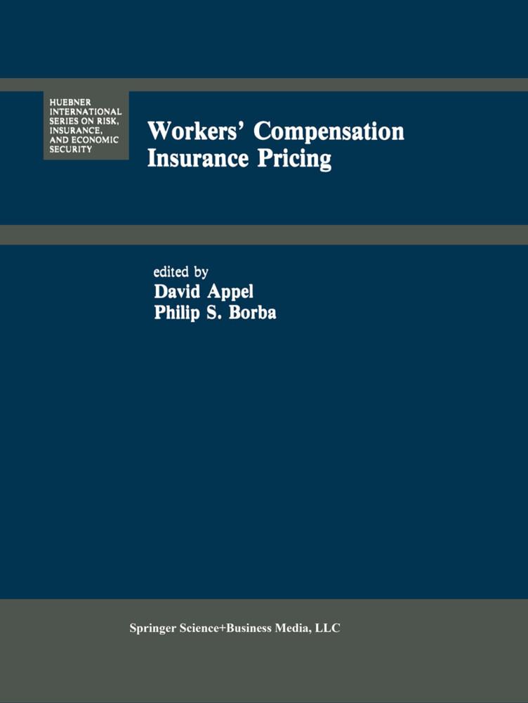 Workers' Compensation Insurance Pricing als Buch (gebunden)