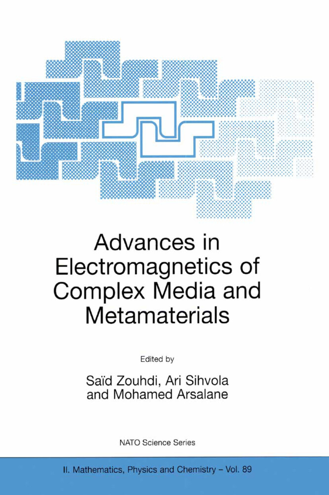 Advances in Electromagnetics of Complex Media and Metamaterials als Buch (kartoniert)