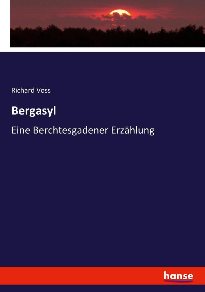Bergasyl, eine Berchtesgadener Erzählung als Buch (kartoniert)