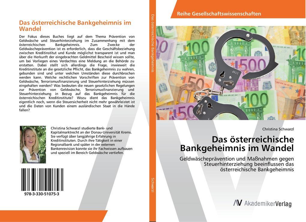 Das österreichische Bankgeheimnis im Wandel als Buch (kartoniert)