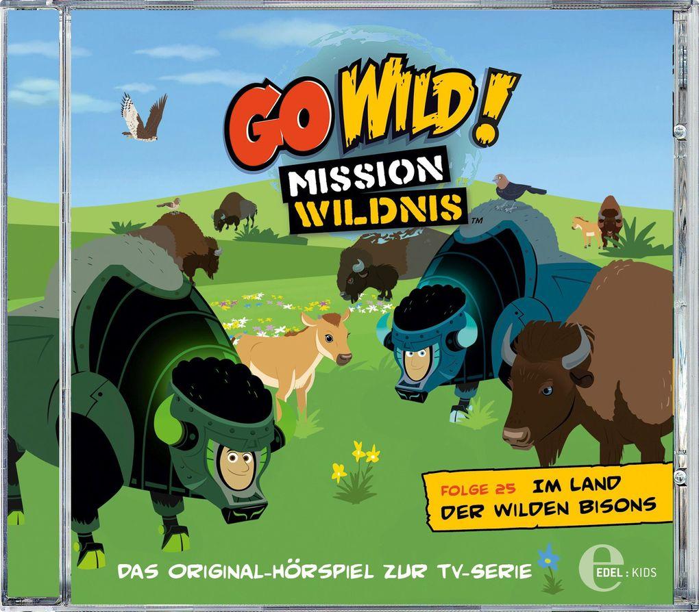 (25)HSP z.TV-Serie-Im Land Der Wilden Bisons als CD