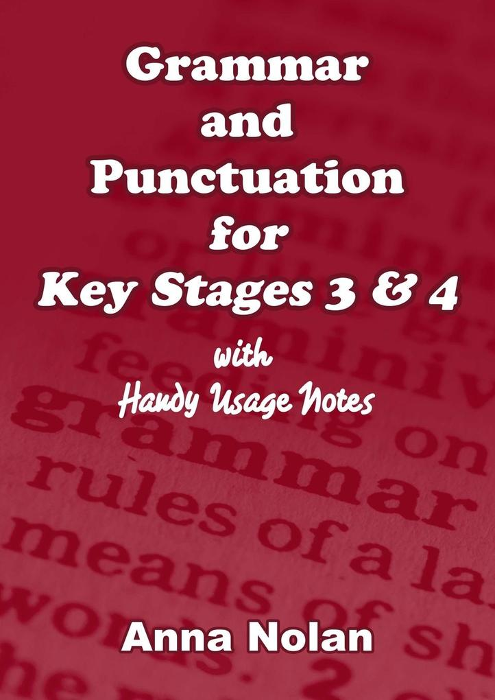 Grammar and Punctuation for Key Stages 3 & 4 als Taschenbuch