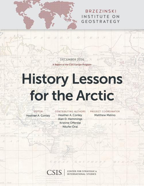 History Lessons for the Arctic als Taschenbuch