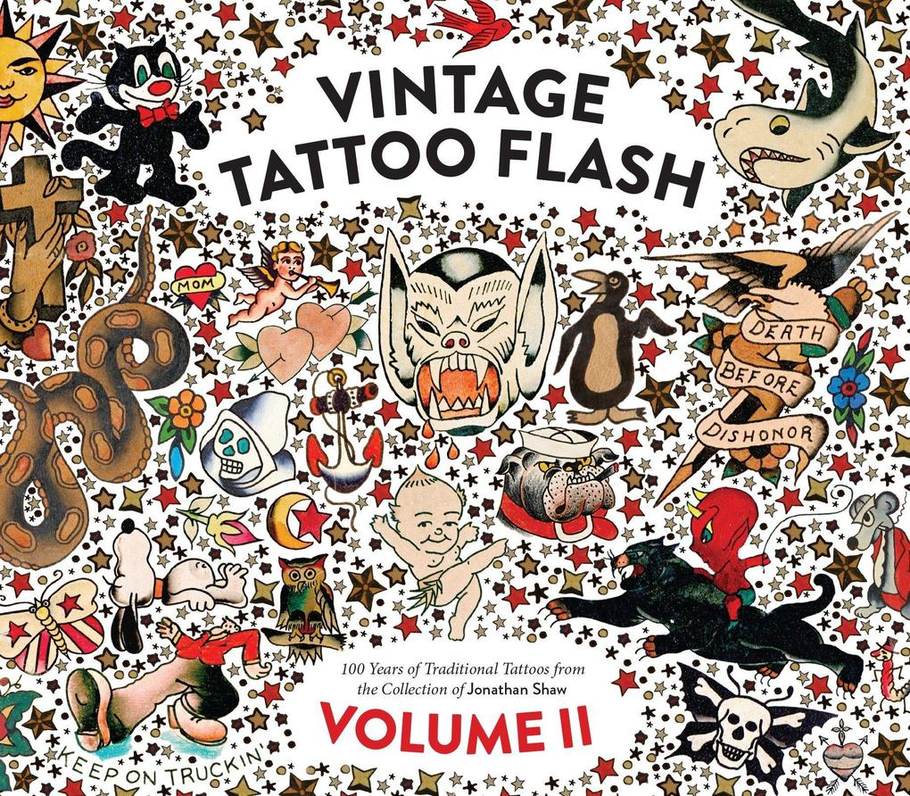 Vintage Tattoo Flash Volume 2 als Buch (gebunden)