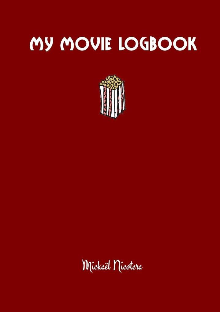 My movie logbook als Taschenbuch