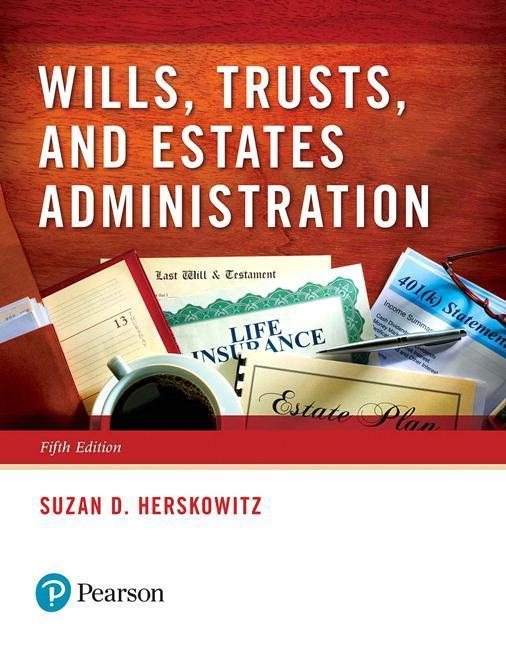 Wills, Trusts, and Estates Administration als Taschenbuch