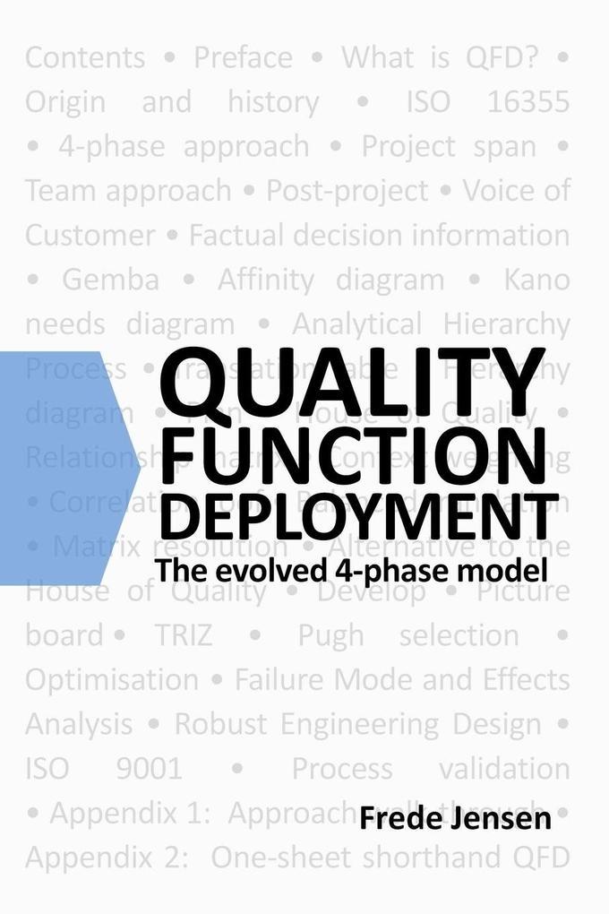 Quality Function Deployment als Taschenbuch