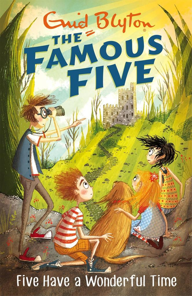 Famous Five: Five Have A Wonderful Time als Taschenbuch