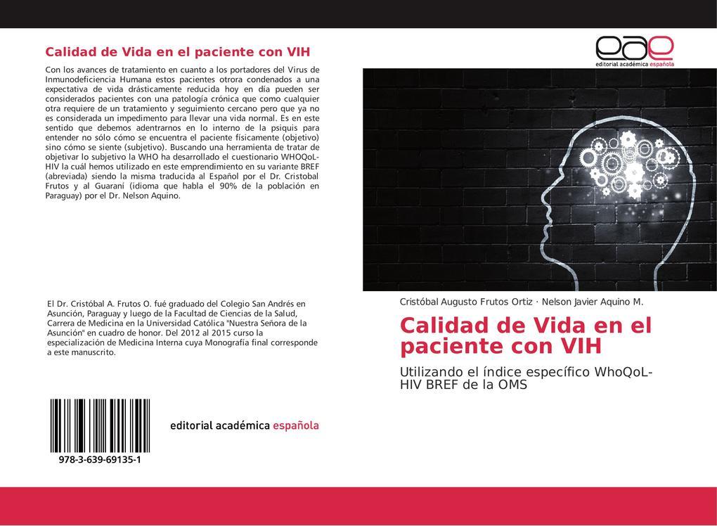 Calidad de Vida en el paciente con VIH als Buch (kartoniert)
