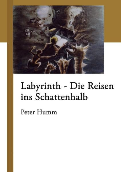 Labyrinth - Die Reisen ins Schattenhalb als Buch (gebunden)