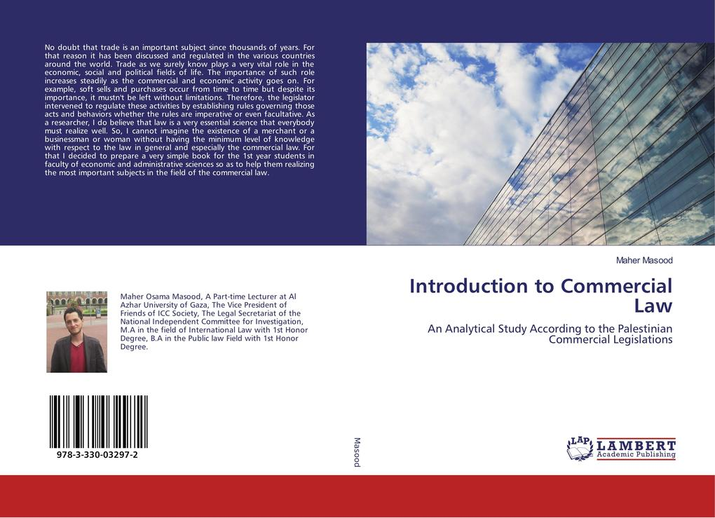 Introduction to Commercial Law als Buch (kartoniert)