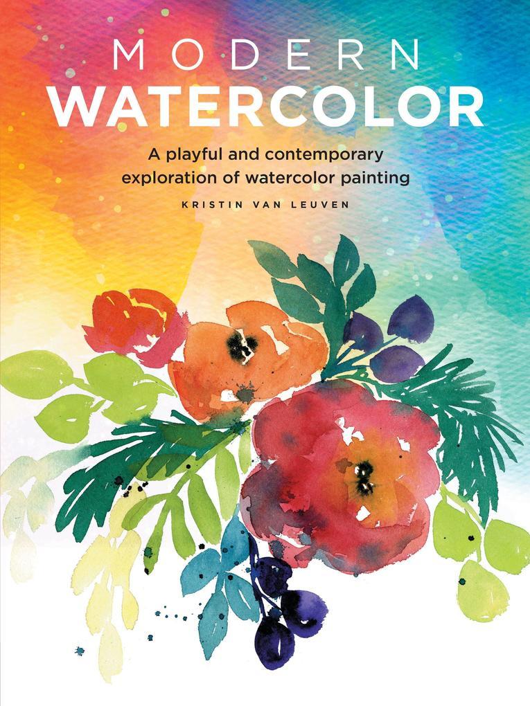 Modern Watercolor als Taschenbuch
