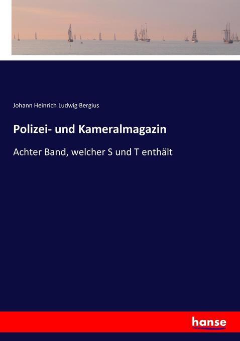 Polizei- und Kameralmagazin als Buch (kartoniert)