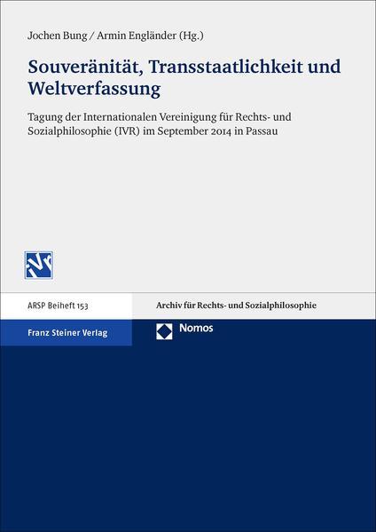Souveränität, Transstaatlichkeit und Weltverfassung als Buch (kartoniert)