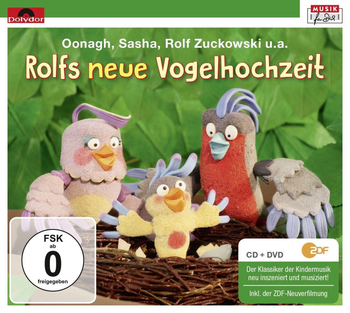 Rolfs Neue Vogelhochzeit. CD + DVD als CD
