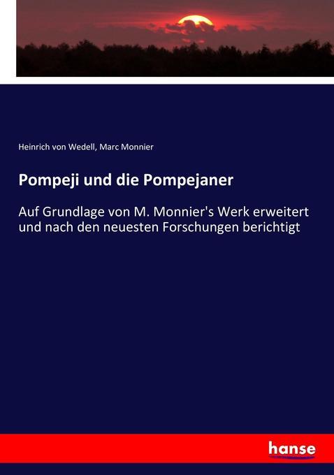 Pompeji und die Pompejaner als Buch (kartoniert)