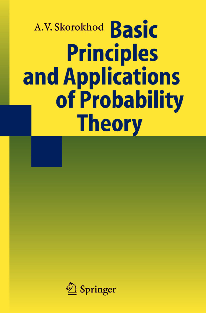 Basic Principles and Applications of Probability Theory als Buch (gebunden)