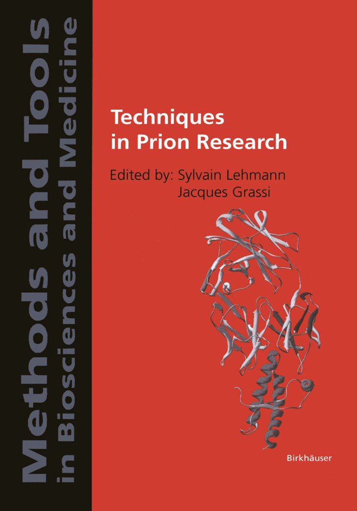 Techniques in Prion Research als Buch (gebunden)