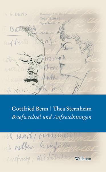 Gottfried Benn - Thea Sternheim als Buch (gebunden)